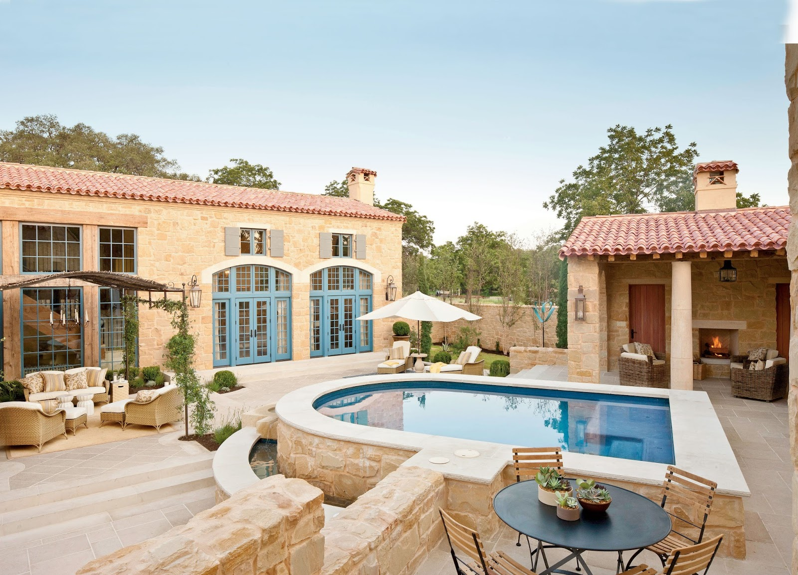 A Pretty Provence Style House In Texas Petite Haus