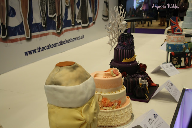 Cakes at the Cake and Bake Show in Manchester