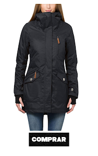 Berydale Chaqueta Mujer Poliester, parka