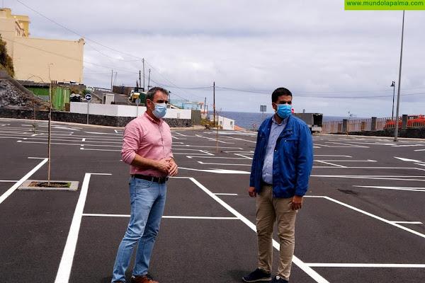 Dotan a la costa de San Andrés y Sauces de una gran superficie de aparcamientos públicos