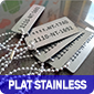 plat stainles
