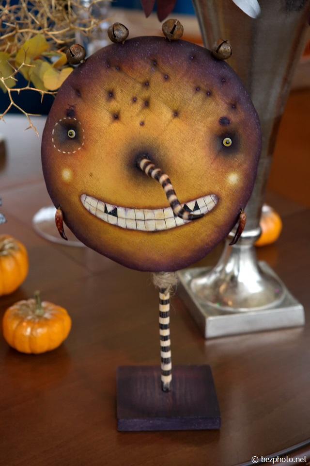 декор интерьера на хэллоуин фото