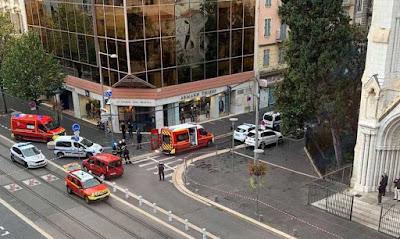 3 قتلى بهجوم في نيس الفرنسية