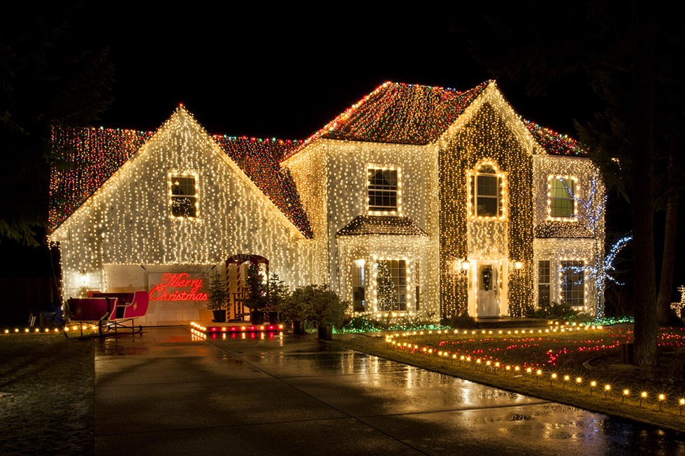 Christmas Vacation House Lights.Stanley S Pictures How Many Outdoor Christmas Lights Are
