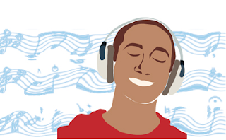 mendengarkan musik 2017