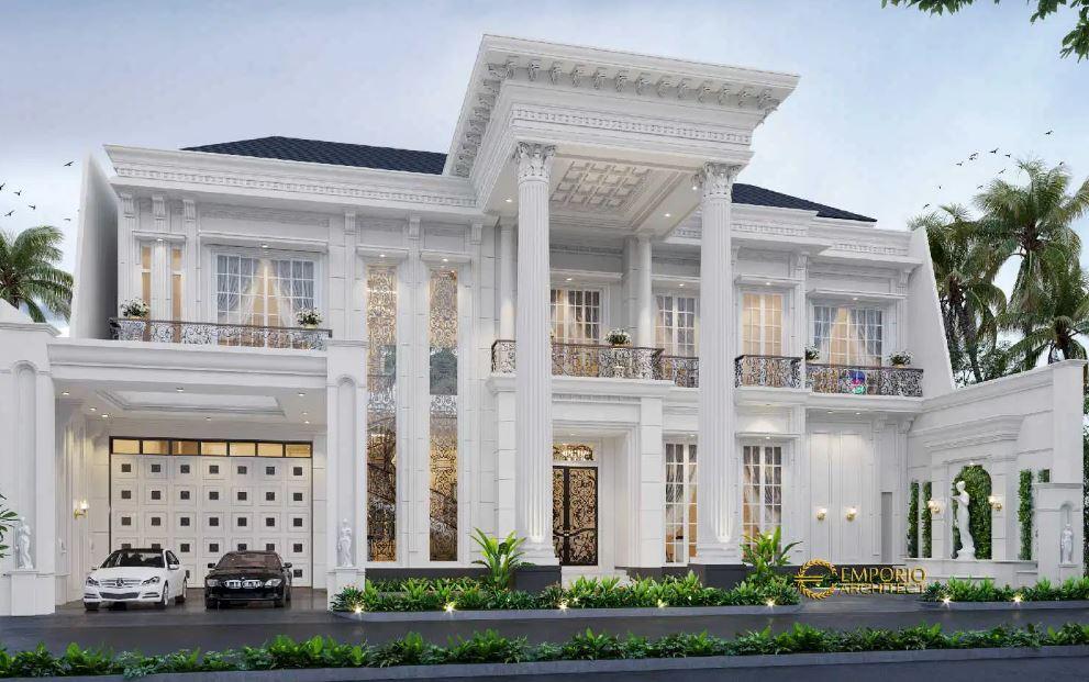 20 Desain Rumah Mewah 1 Lantai 4 Kamar Tidur Terbaru Klikdisini Id