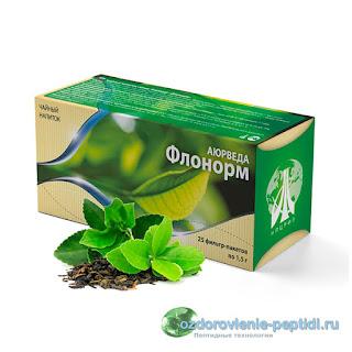 Флонорм - чай для нормализации работы мочевыводящих путей