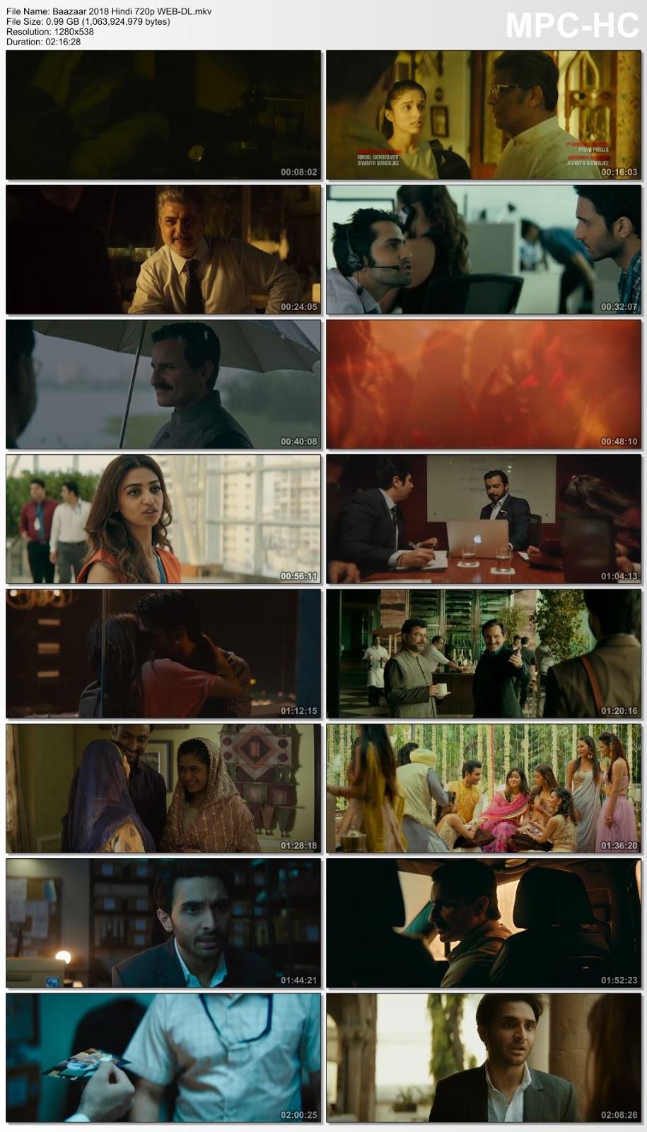 Baazaar 2018 Hindi 720p WEB-DL 1GB Desirehub