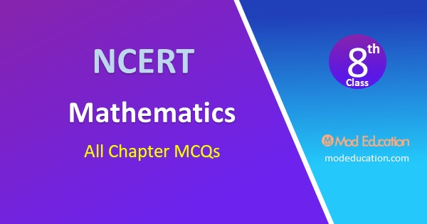 MCQ for Class 8 Maths Chapter 15 Introduction to Graphs with Answer PDF Download