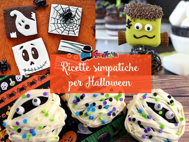 Ricette creative per halloween