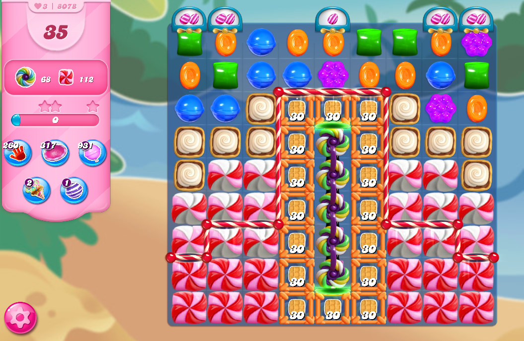 Candy Crush Saga level 8078
