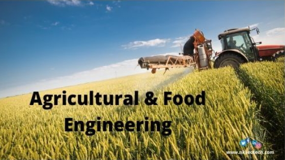 Agricultural and Food Engineering