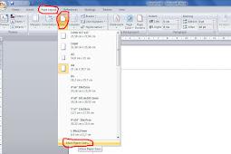 Cara Membuat Ukuran Kertas F4 Di Ms Word