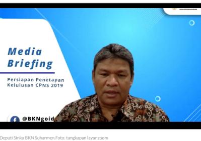 19.732 Formasi Berpotensi Kosong Bakal Diisi oleh Peserta Seleksi CPNS 2019 yang Tidak Lulus