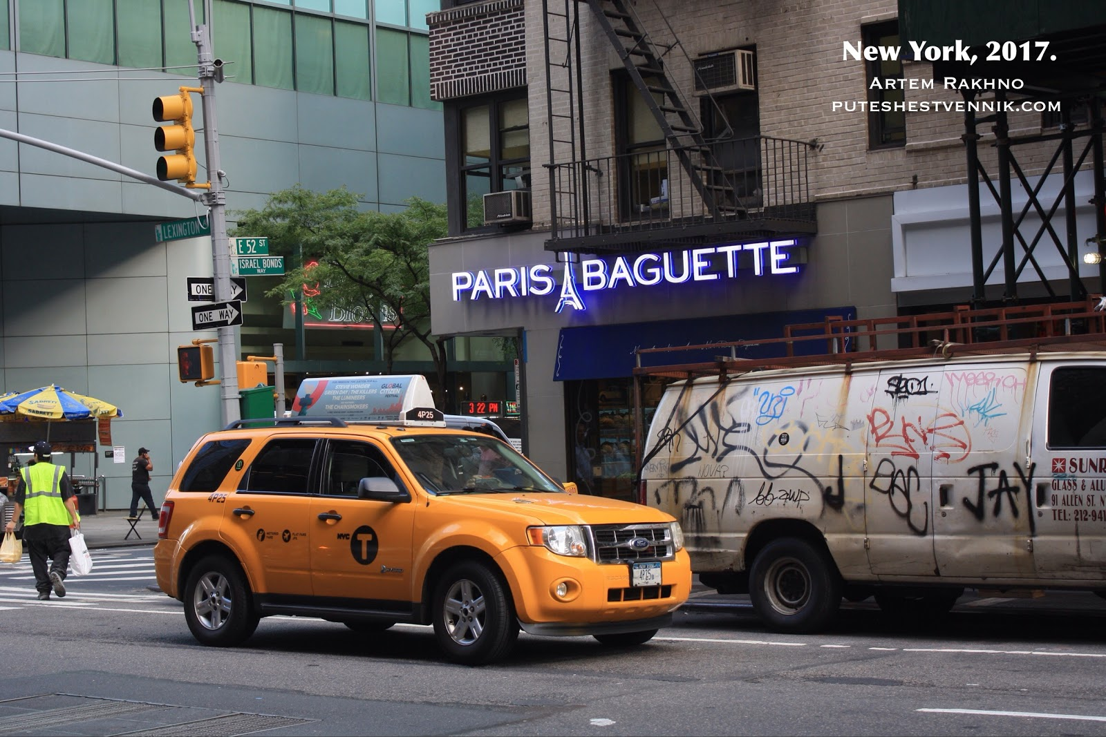 Французская булочная в Нью-Йорке