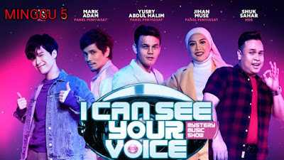 Live Streaming I Can See Your Voice Malaysia 2020 Minggu 5