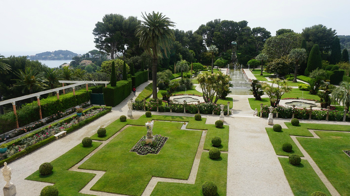 French Garden of Villa Ephrussi Rothschild