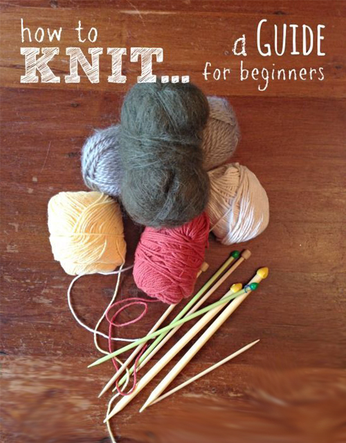 How to Knit: Get Started Knitting