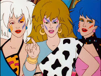 misfits roxy pizzazz stormer bullies jem holograms mean awesome makup hair
