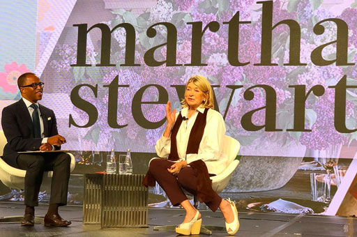 Lifestyle maven Martha Stewart was honored this week in Philadelphia at the National Gay and Lesbian Chamber of Commerce Business and Leadership conference.