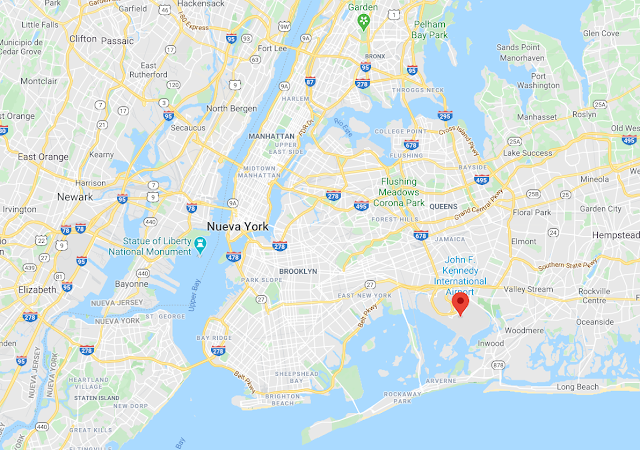 donde está el aeropuerto JFK de Nueva York