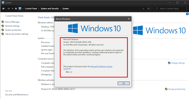 Download ISO Windows 10 V.1909 AIO [Update November 2020]