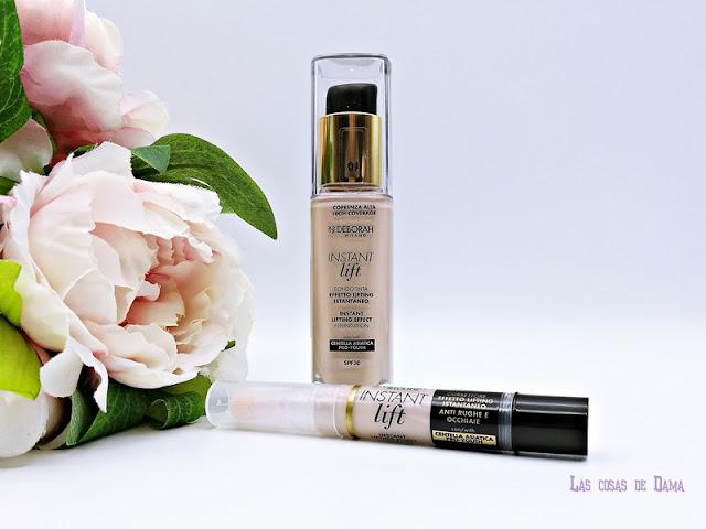 Deborah Milano Instant lift makeup foundation maquillaje beauty concealer