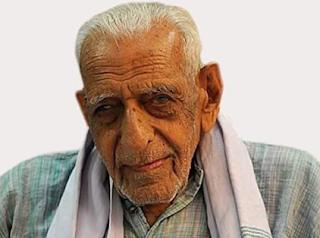 104 ವರ್ಷ ವಯಸ್ಸಿನ ಹಿರಿಯ ಸ್ವಾತಂತ್ರ್ಯ ಹೋರಾಟಗಾರ ದೊರೆಸ್ವಾಮಿ ಇನ್ನಿಲ್ಲ
