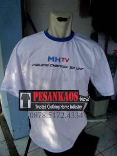 kaos sablon oblong semi cotton