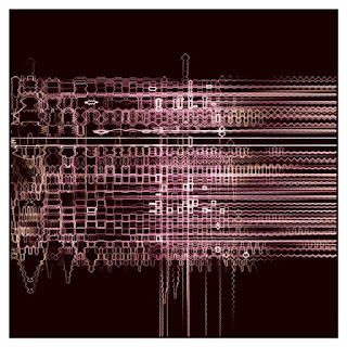 A generative artwork like an electrical discharge.