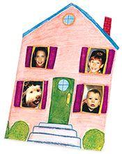 Photo House Card