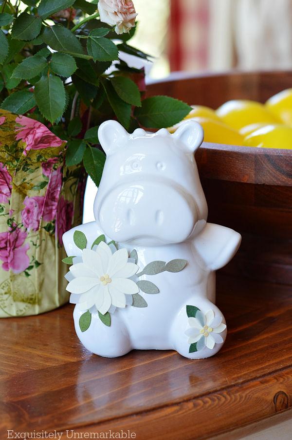 Ceramic Cow Makeover