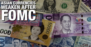 AUD Rising while most Asian Currencies Weaken After FOMC Minutes
