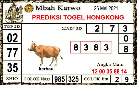 Prediksi Mbah Karwo Hk Rabu