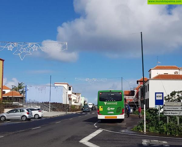CC de Puntallana pide una nueva marquesina de guaguas en el casco urbano para seguridad y comodidad de los vecinos
