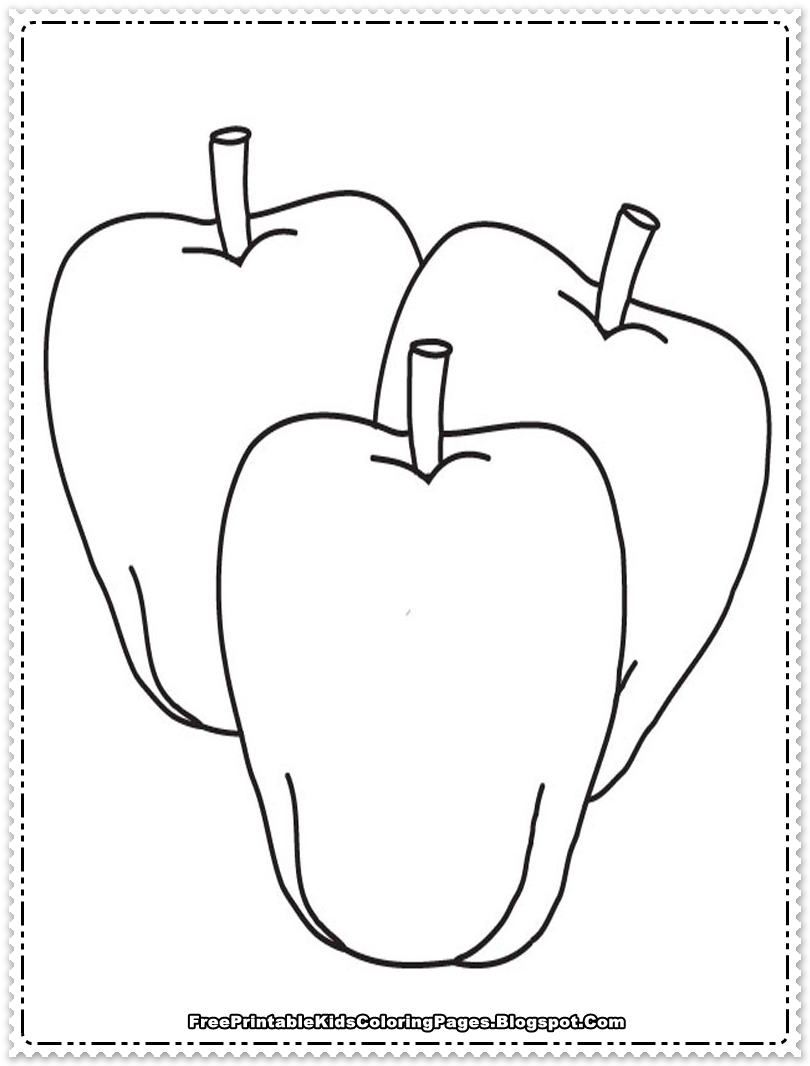 100 free apple coloring pages fruit coloring pages pears fruits