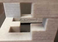 Andrew Crowell Debossment