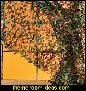 Army Camouflage Curtain
