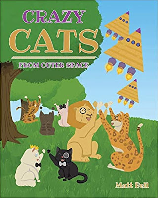 Learn about the characteristics of tall tales with Crazy Cats from Outer Space by Matt Bell. Cats, space travel, pyramids of Giza and Chichén Itzá. #kellysclassroomonline