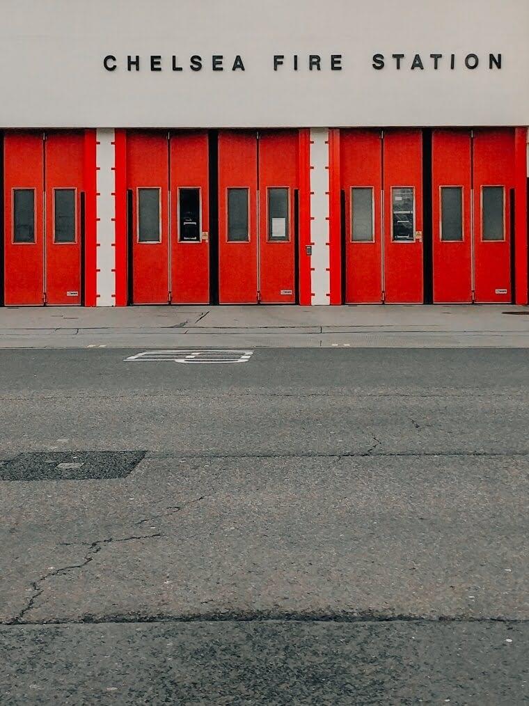 Chelsea fire station | cardboardities