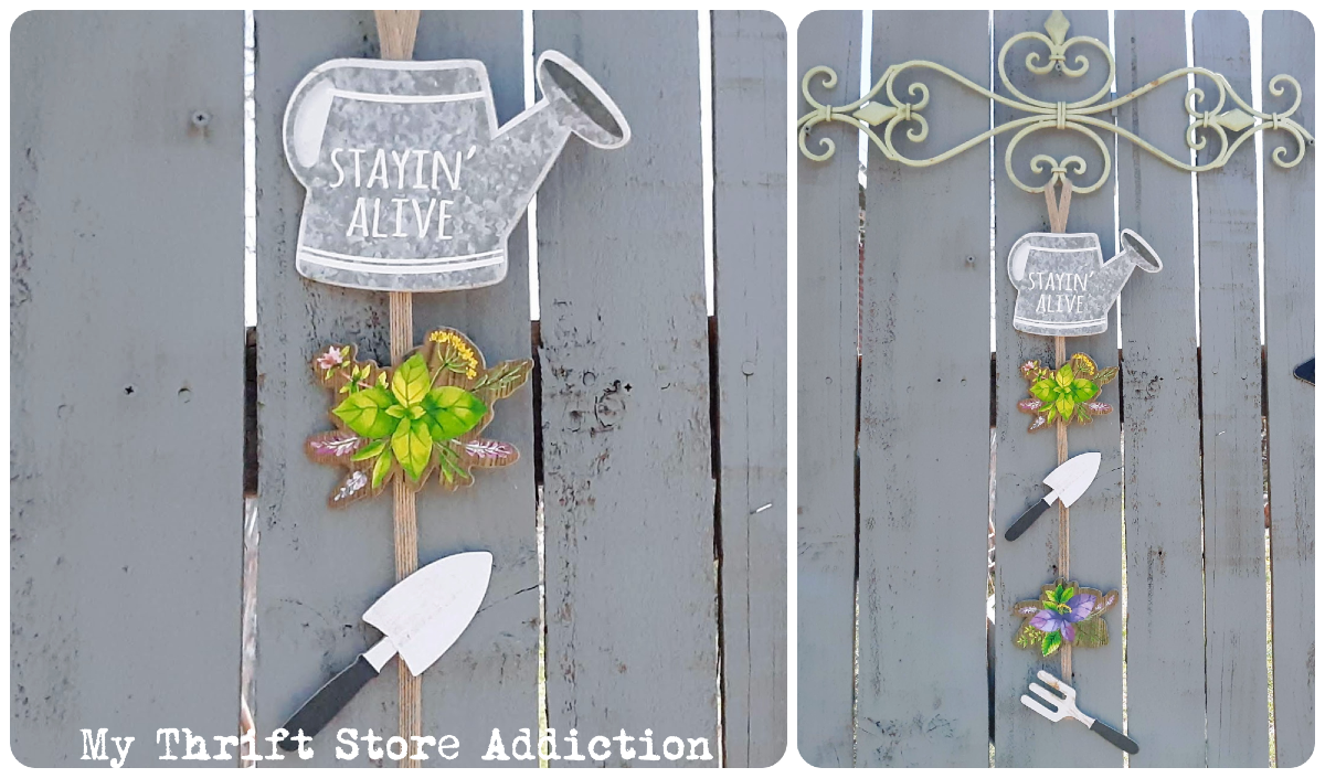 whimsical garden signs