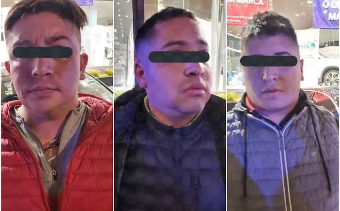 Asaltantes detenidos por robar en Periférico Sur planean denunciar a su víctima; señalan que fue prepotente y amenazador