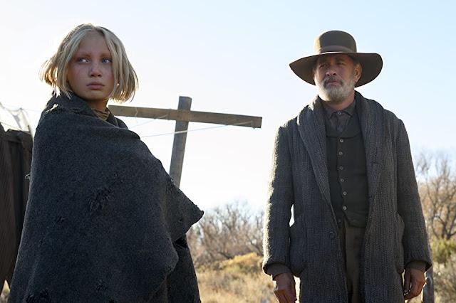 Helena Zengel y Tom Hanks.