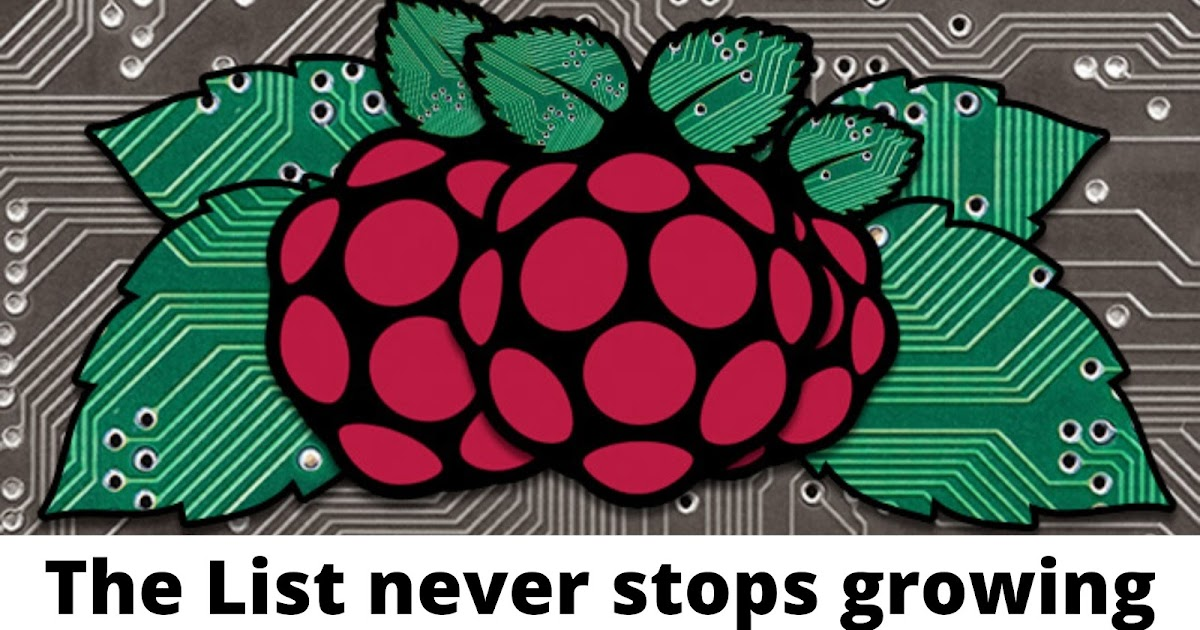 Operating Systems for Raspberry pi - Some suprises are there for you!