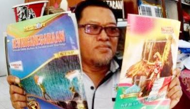 LKS Bergambar Lambang Garuda Bersayap Patah Beredar di Mojokerto