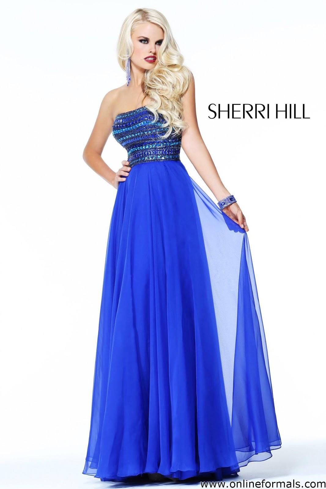 The Fashion Blog Sherri Hill 1539