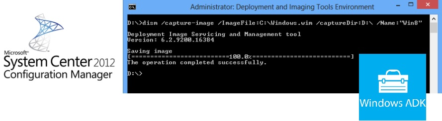 Systems Inside: Capture Image for SCCM - WDS - MDT using DISM and WinPE