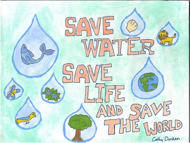 Save Water Poster For School Project
