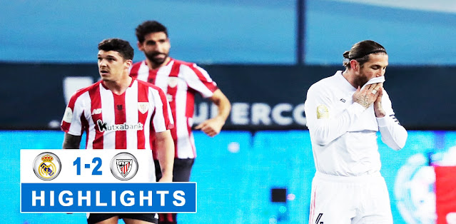Real Madrid vs Athletic Bilbao Highlights