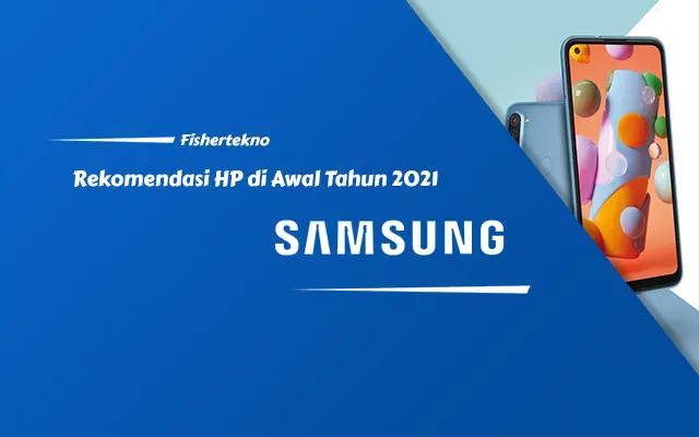 Rekomendasi HP Samsung Awal Tahun